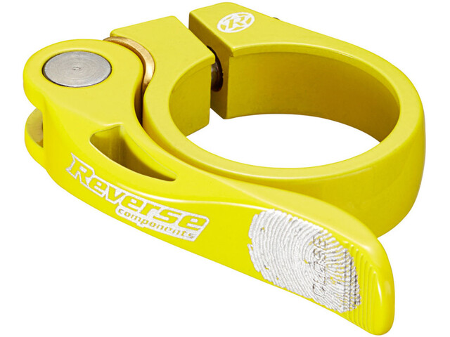 Reverse Long Life Seat Clamp Ø34,9mm, yellow